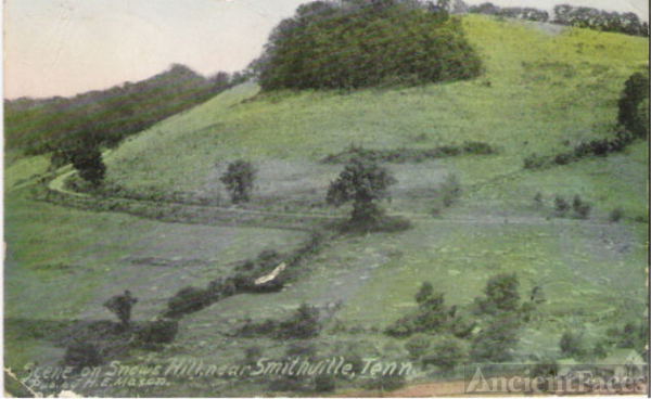 1907-1915 Smithville, Tennessee Post Card