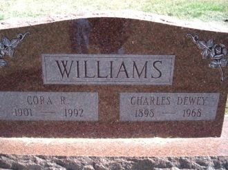 Charles & Cora Williams gravesite