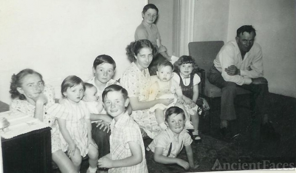 George and Susan Floyd with family