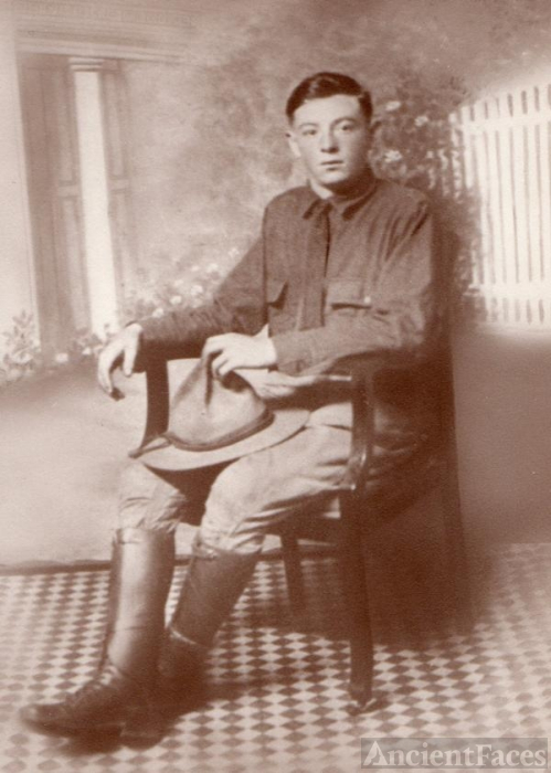 Harris Dad during WW 1
