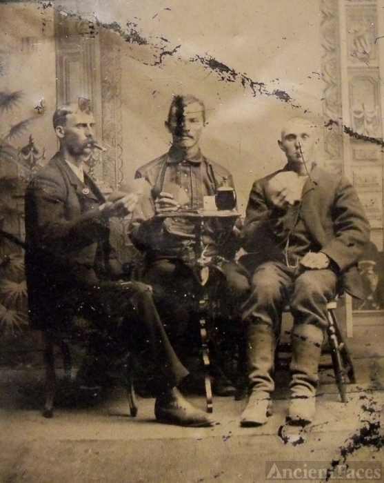 Unknown men, Louisiana 1880