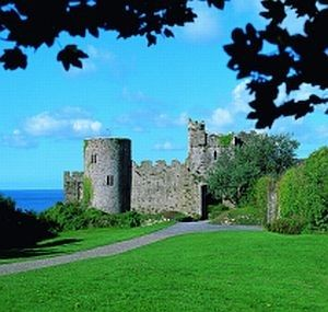 Manorbier Castle (Barry family)
