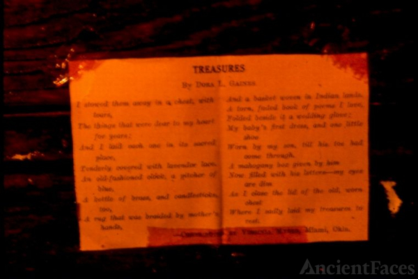 Treasures Poem
