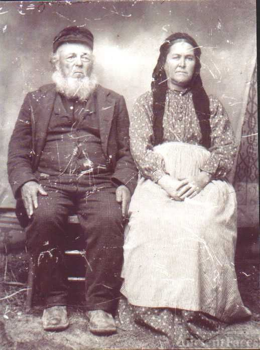 Jonas ( John) Jackson & wife Martha Ann Smith