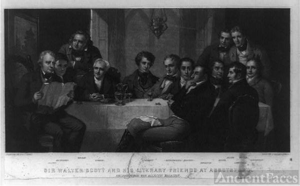 Sir Walter Scott and his literary friends at Abbotsford /...