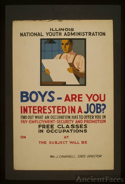 Boys - are you interested in a job? Find out what an...