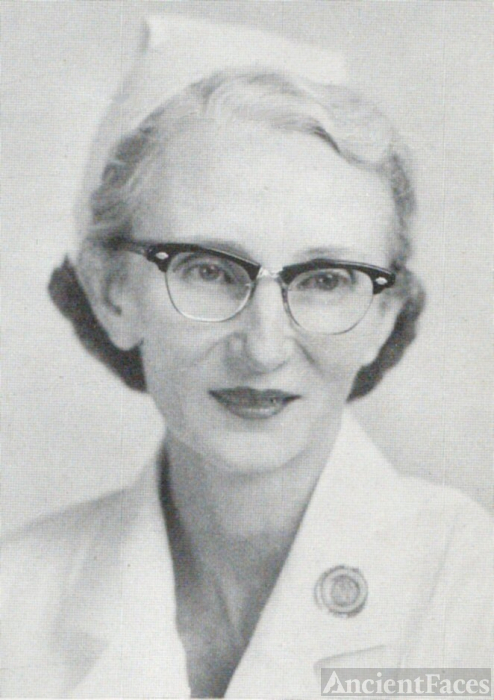 Mrs. Ancel Allen, Kentucky, 1955