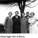 FARNER SIBLINGS: Rosa, Mary, Aggie, Ben, and Bess