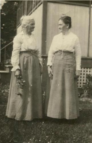 Ellen Andrews & Sarah Butterfield