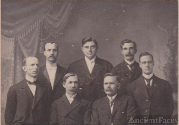 Fergus Falls Minnesota Seven Unknown Men