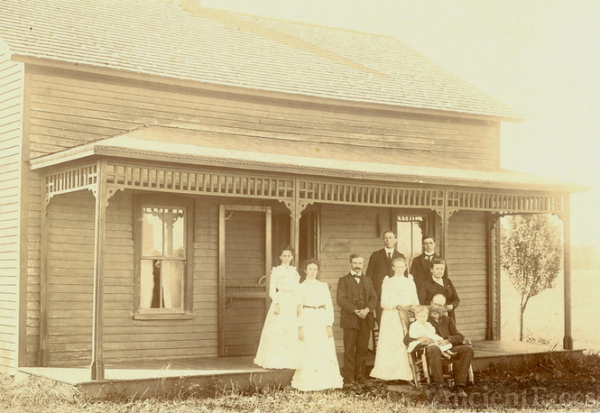 Spencer Butler family 1903
