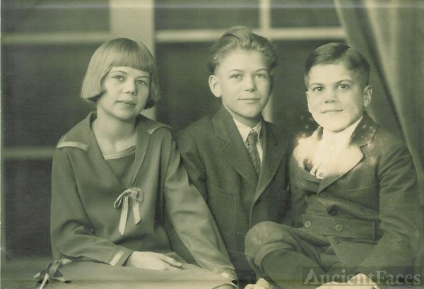 Thelma, Wilton and Joseph Matthews