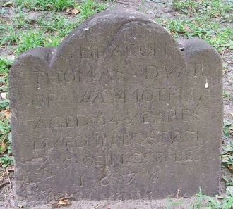 A photo of Thomas Dyer Marker