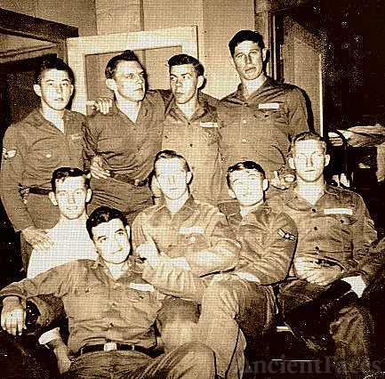 Herman Burke Platoon, World War Two