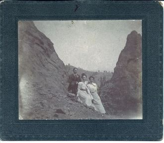 Keeton Man & two Women, NE or CO