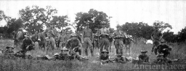 National Guard at Leon Springs