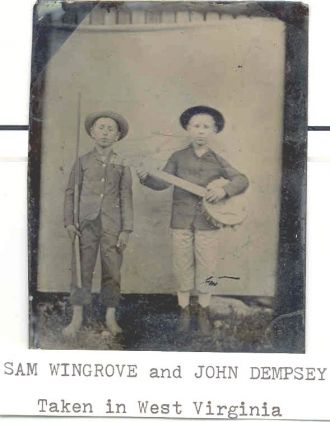Sam Wingrove and John Dempsey