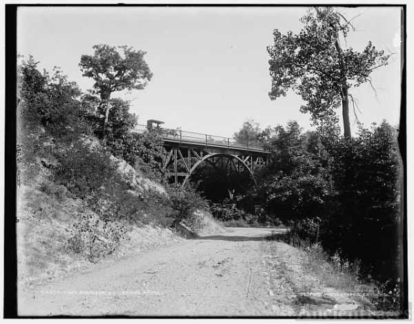 Fort Sheridan, Ill., Ravine Bridge