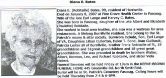 Diana Robitaille obituary