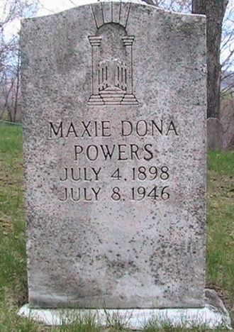 Maxie Dona Owens (Powers) Gravesite