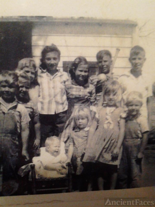 Herbert & Willie Hunter Family, TX 1958