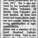 Policastro, Arlene Gallagher Minard -  obituary