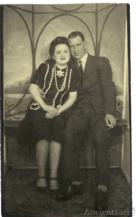 Sherman Emmett and Lucille Marie {Dyer} Wright