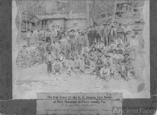 Arsenic mines of Floyd County