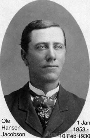Ole Hansen Jacobson as young man