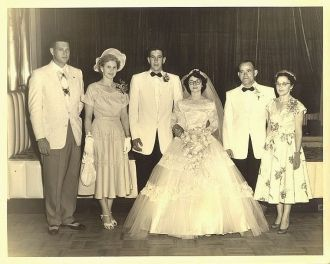 Wedding of Al & Joan Menendez McCulley