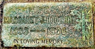 Margaret Jane Boothby