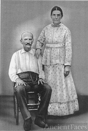 Sarah Penelope Keys & second husband, Paul Fonburg