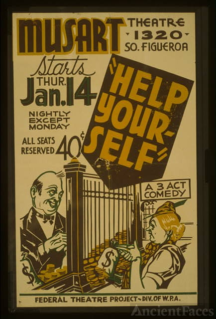 """Help yourself"" A 3 act comedy."