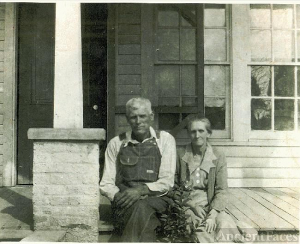 Milton Carl Mardis & wife Eveline Raney McCrealess