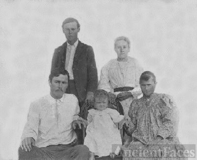 Doyle and Hughes Family-LeFlore County, OK