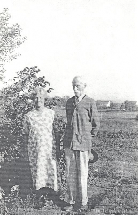 Great-Grandparents John & Louisa (Palmer) Vallis