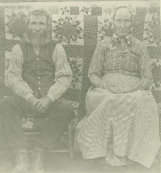 Mary Elizabeth Grimmett and Alexander Meadows