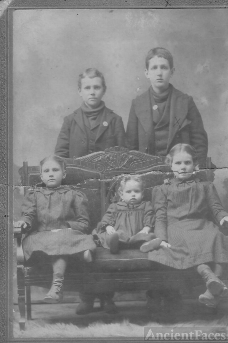 Children of John Harriss Haggard and Nancy Isabell Wilson