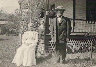 Otto Louis and Betsie Ann (Downs) Stamm