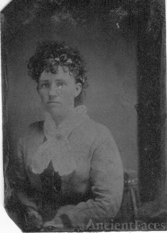 Unknown woman, late 1800's Indiana