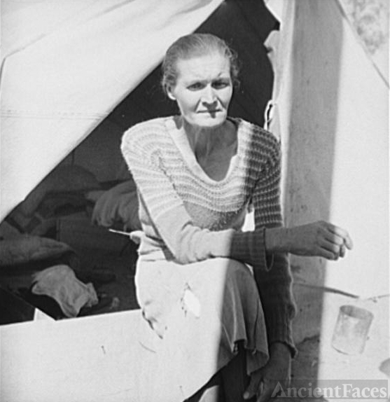 Dust Bowl Refugee from Oklahoma, 1937