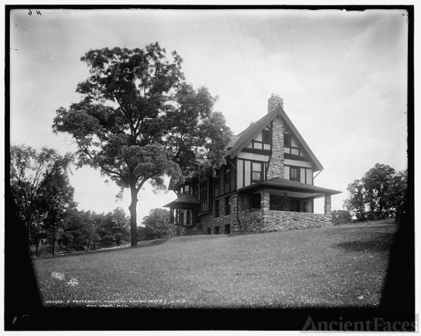 A Fraternity house, Phi Gamma Delta, U. of M. [University...