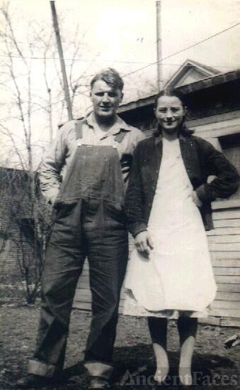 Chester & Lydia Olson, 1930