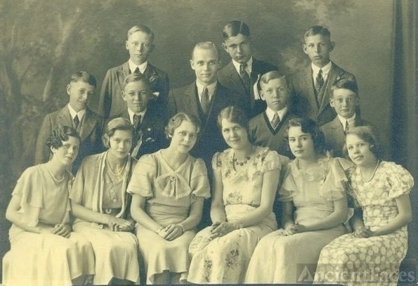 8th Graduation Billings School 1933