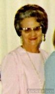 My Aunt Mairl Kirk at our Wedding