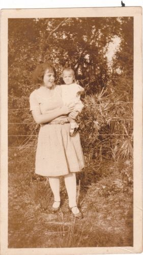 Agnes (Gill) and her son Joe Young