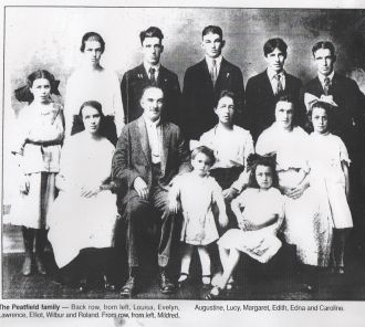 Augustine Peatfield Family