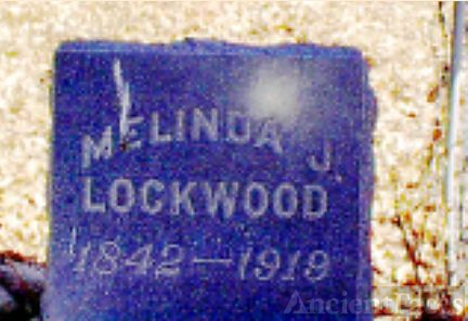 Melinda Jane (Miles) Lockwood gravesite, Colorado