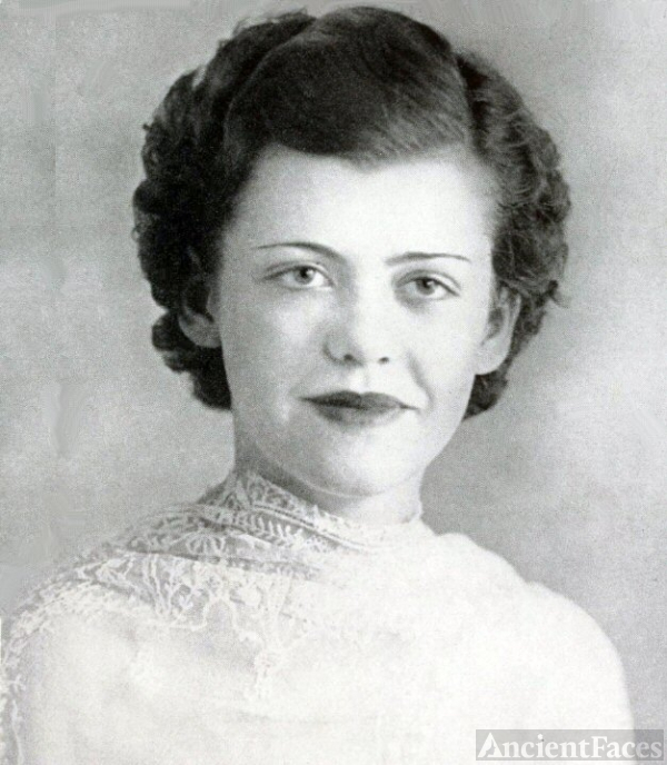 Rita Frances Adair, Georgia, 1937