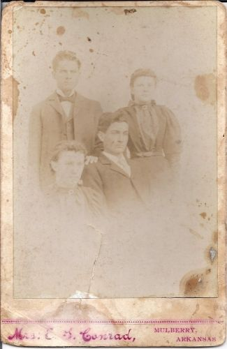 West or Crabtree Family, AR 1800's